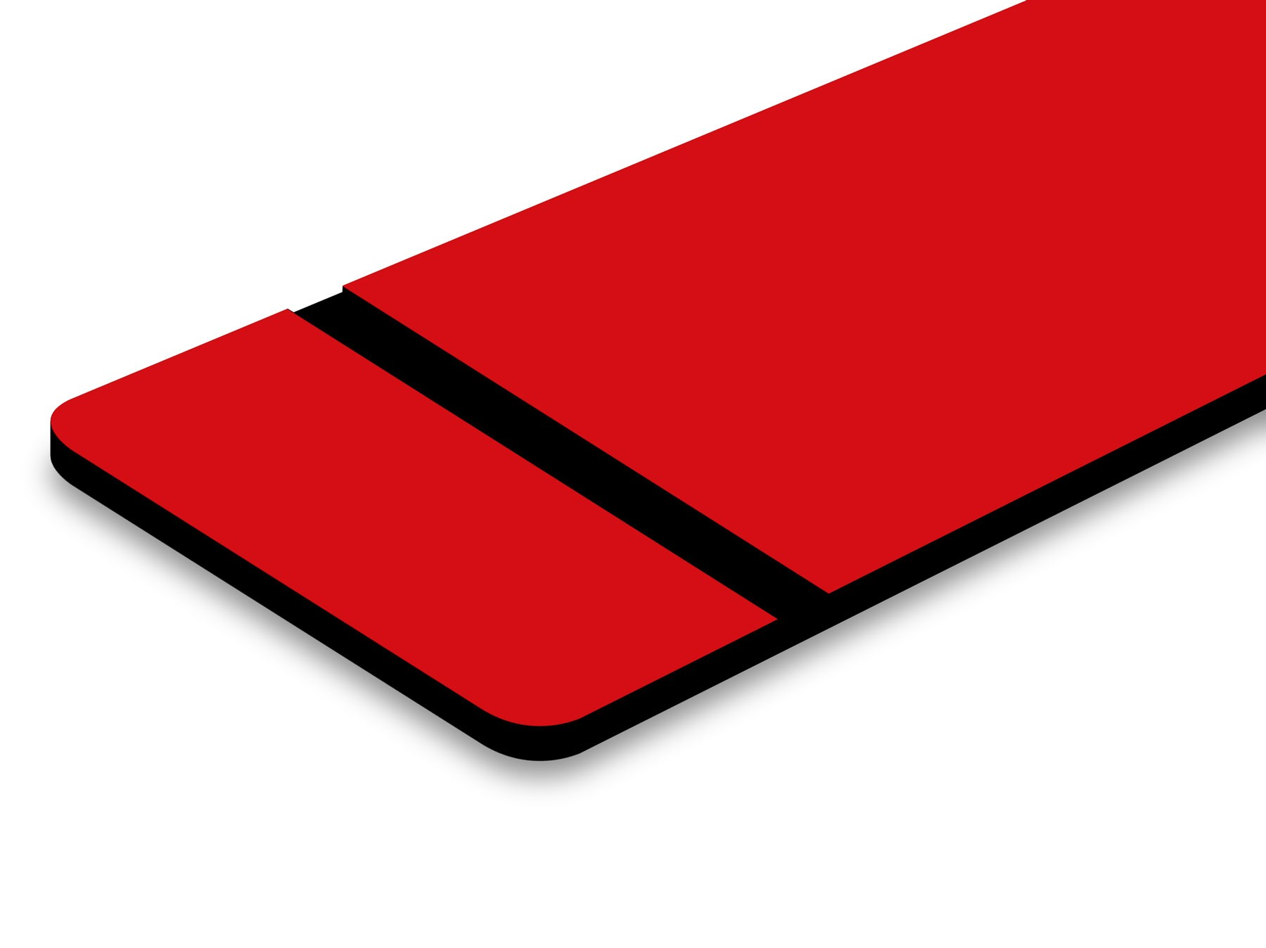 "Red/Black 1/16"""
