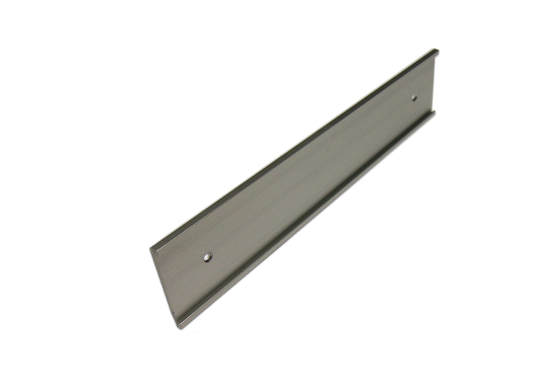 "2"" x 1/16"" x 8"" Wall Bracket, Satin Silver"