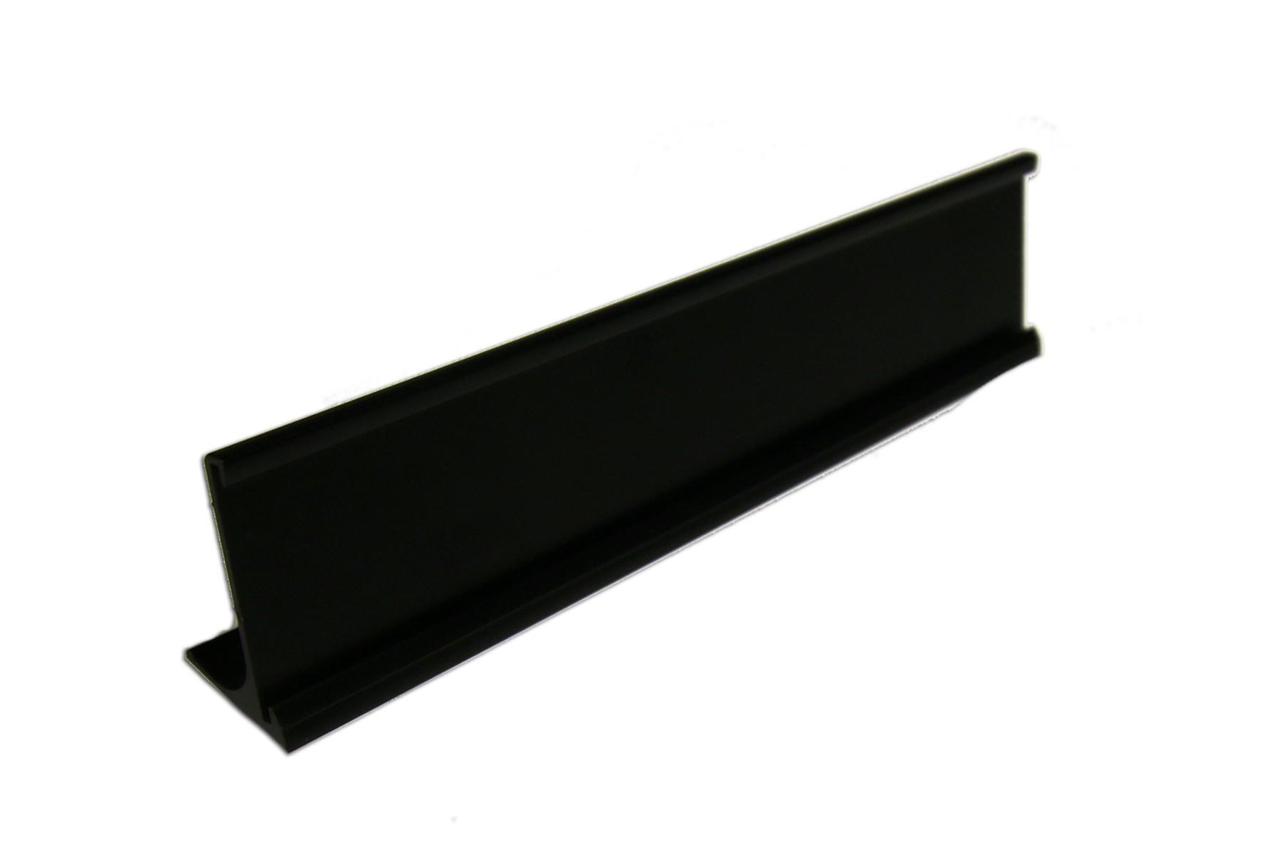 1-1/2 x 8 Desk Holder, Black