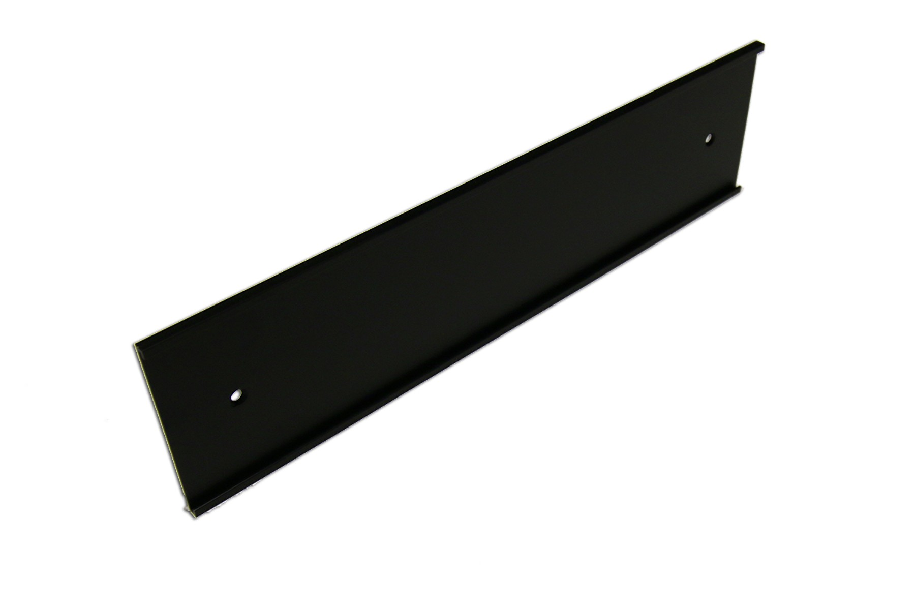 "3"" x 1/16"" x 36"" Wall Holder, Black"