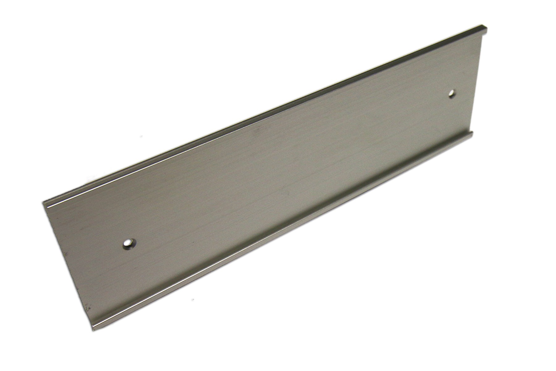 3 x 8 Wall Holder, Satin Silver