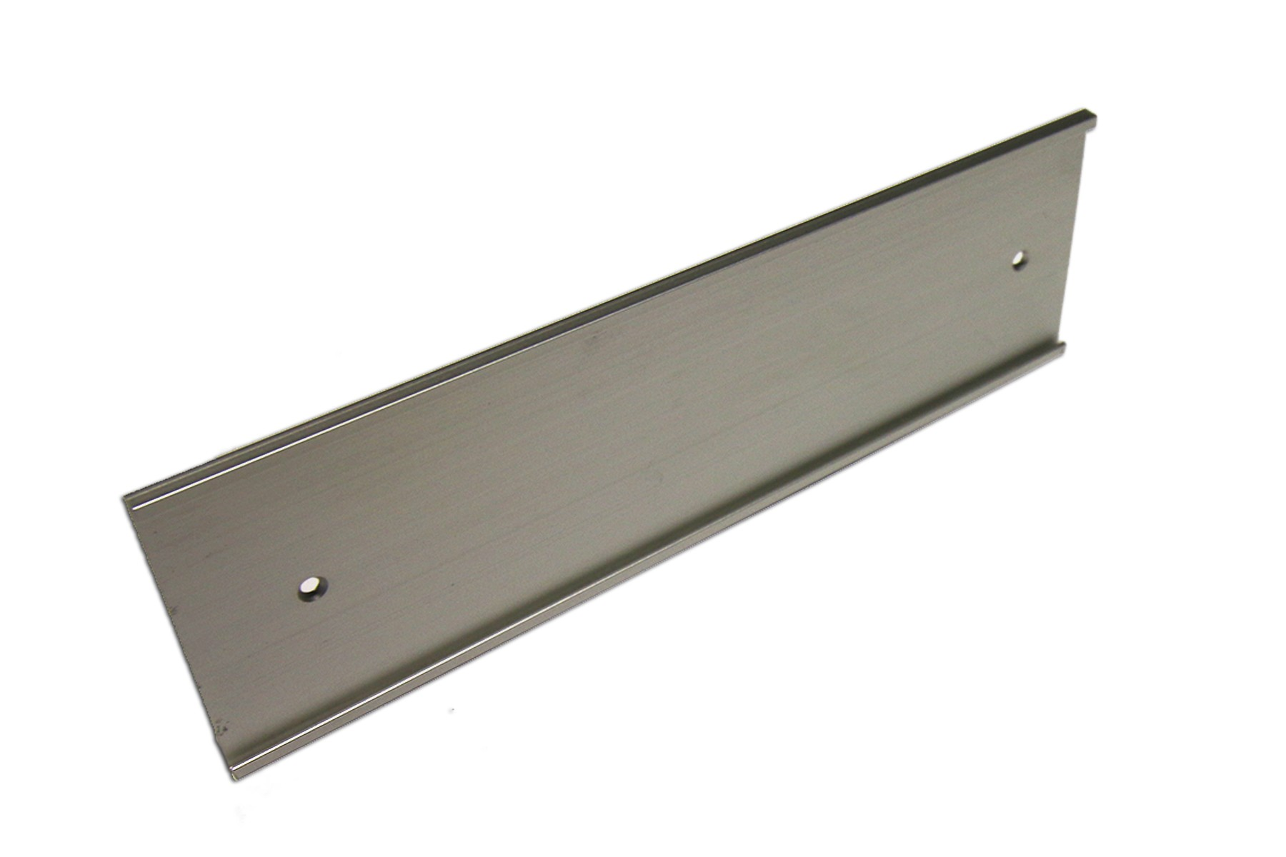 3 x 12 Wall Holder, Satin Silver
