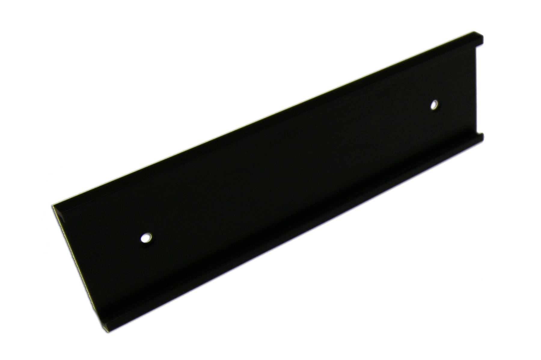 "2"" x 1/8"" x 12"" Wall Holder, Black"