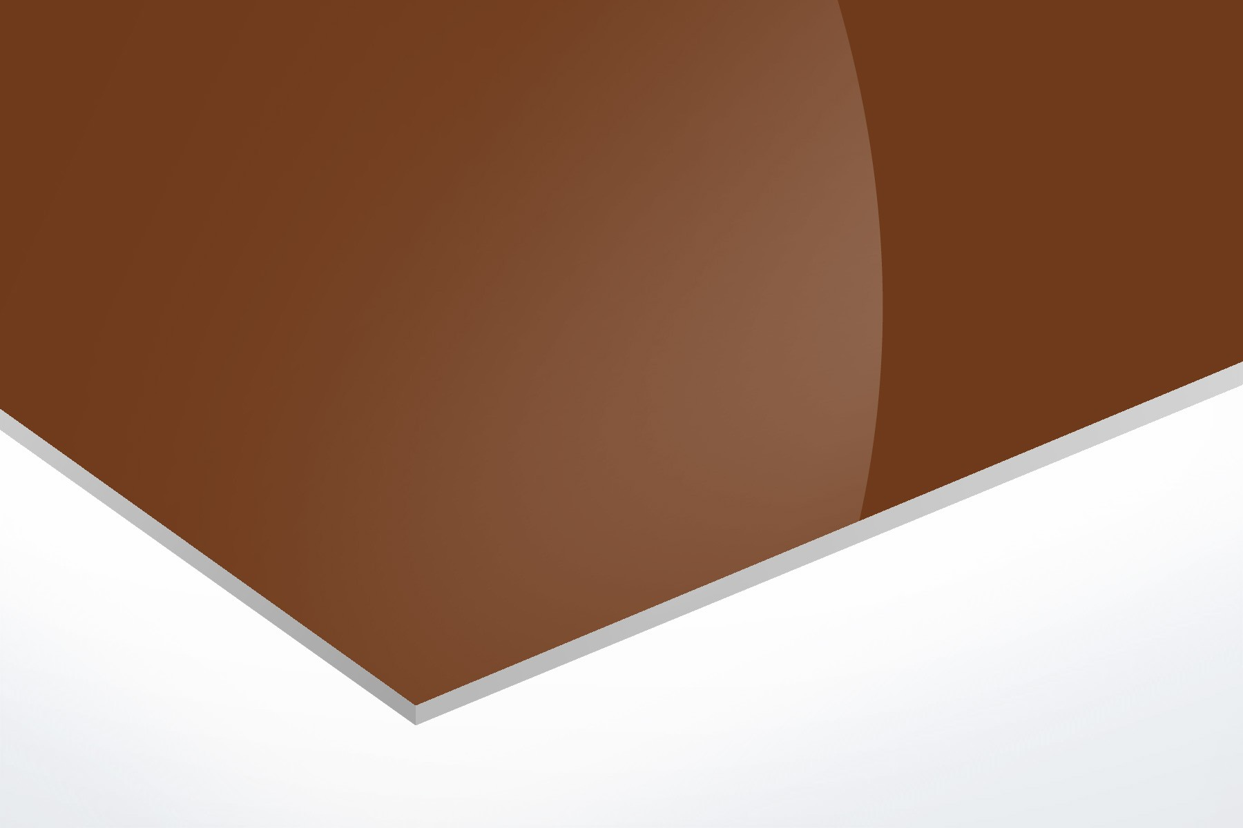 "Brown Opaque Aluminum 0.025"""