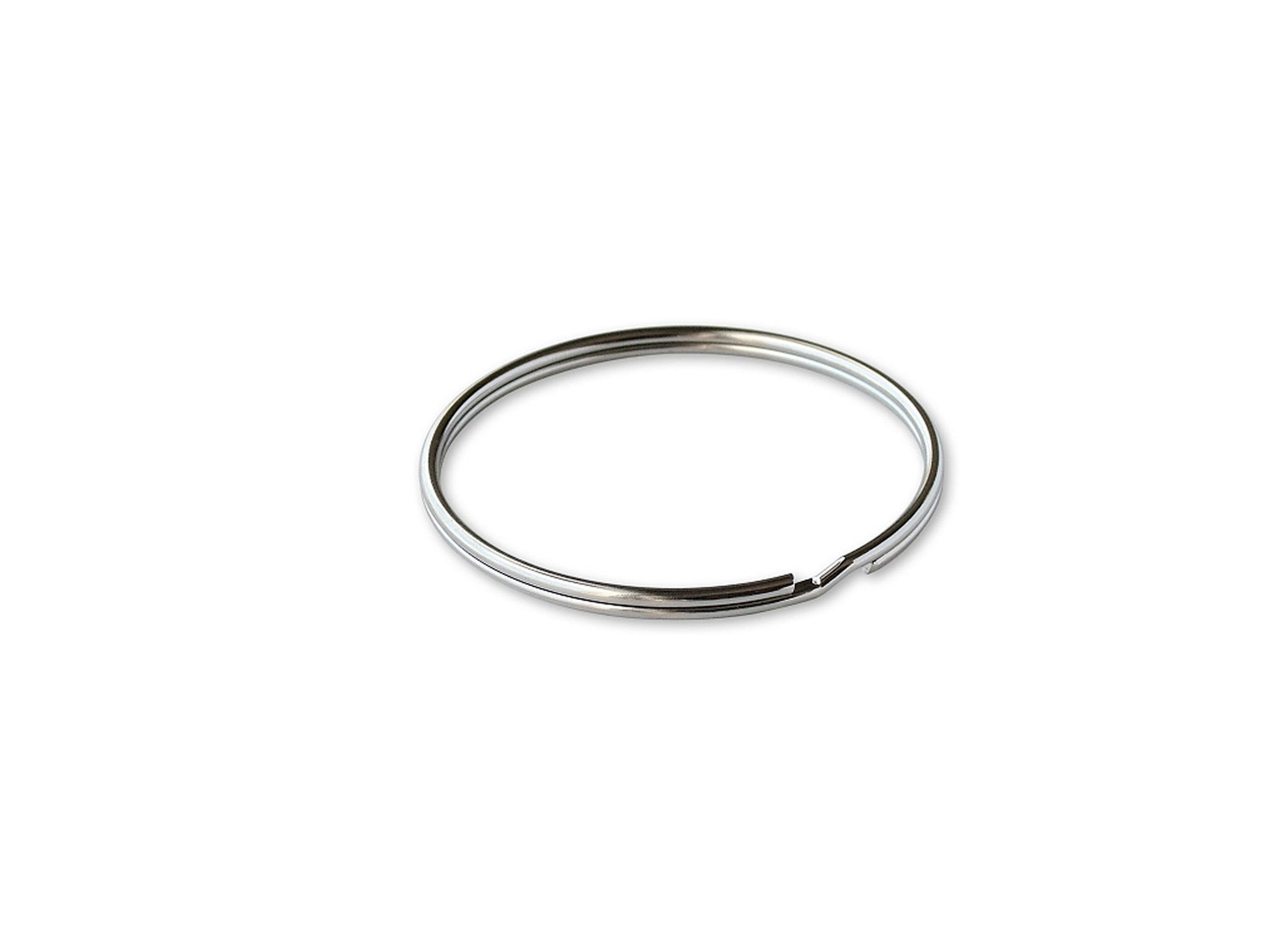"1/2"" Split Ring Silver, 100/box"