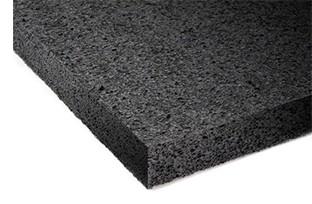 """Polyethylene Sht Charcoal 4lb 24x48x1/2"""""""