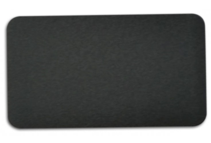 "Anodized Aluminum, Black (0.025""), 2"" x 3 1/2"""