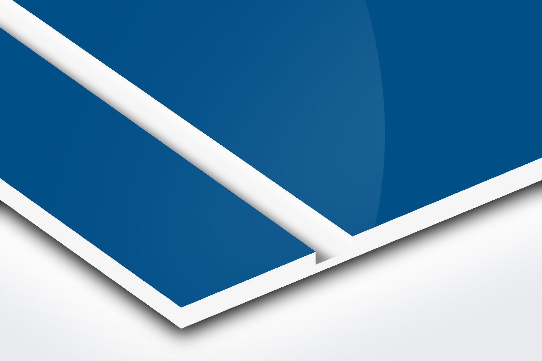 """Blue (Gloss)/White 1/16"""" L512-206G"""