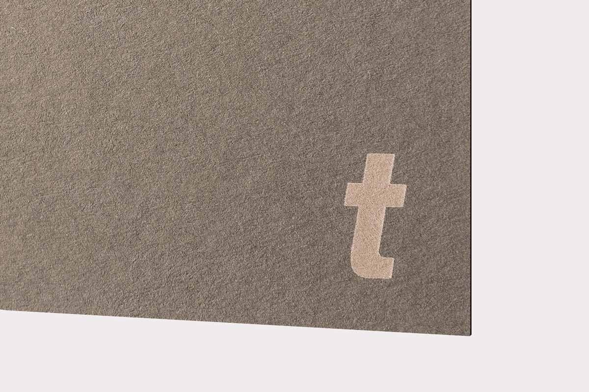 LaserPaper Slate Grey (110 lbs cover) 10pcs