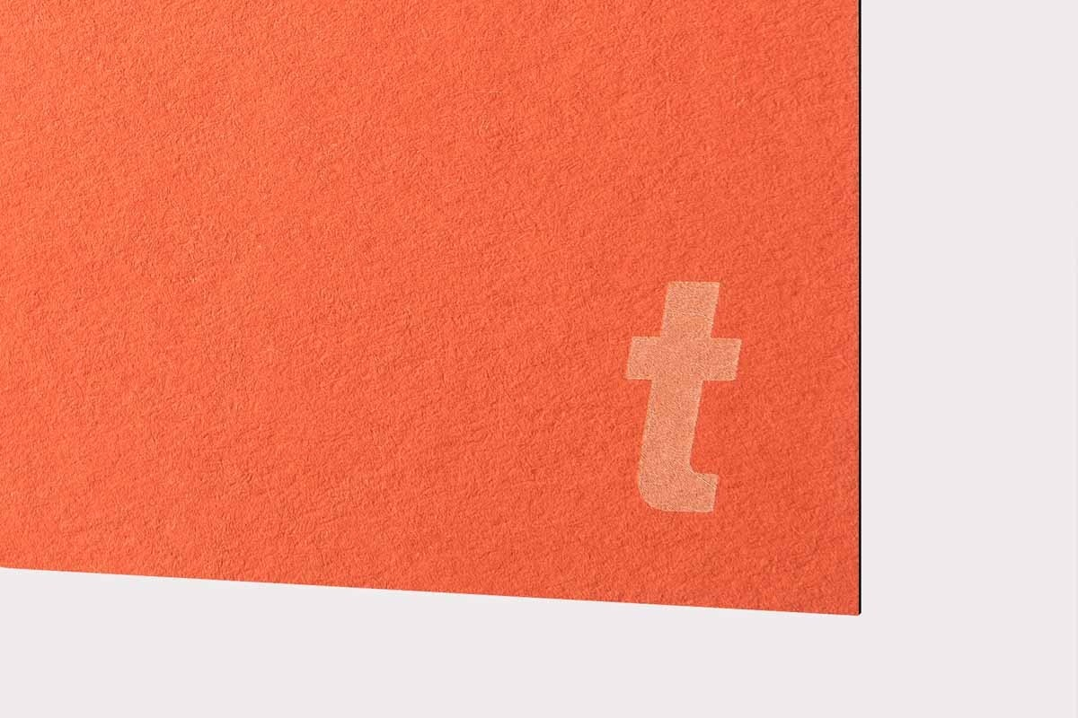 LaserPaper Tangerine (110 lbs cover) 10pcs