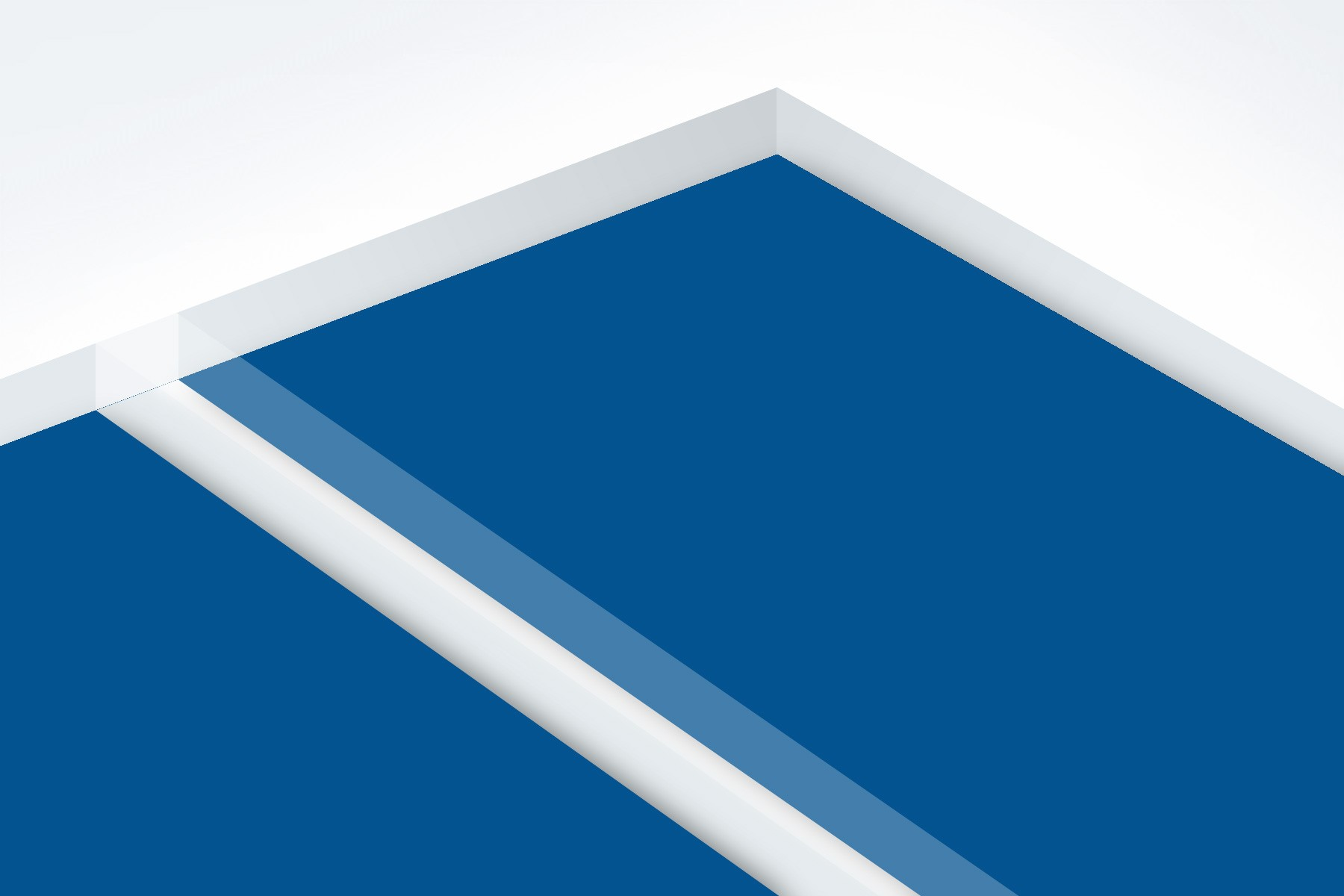 "Matte Clear/Sapphire 1/16"""