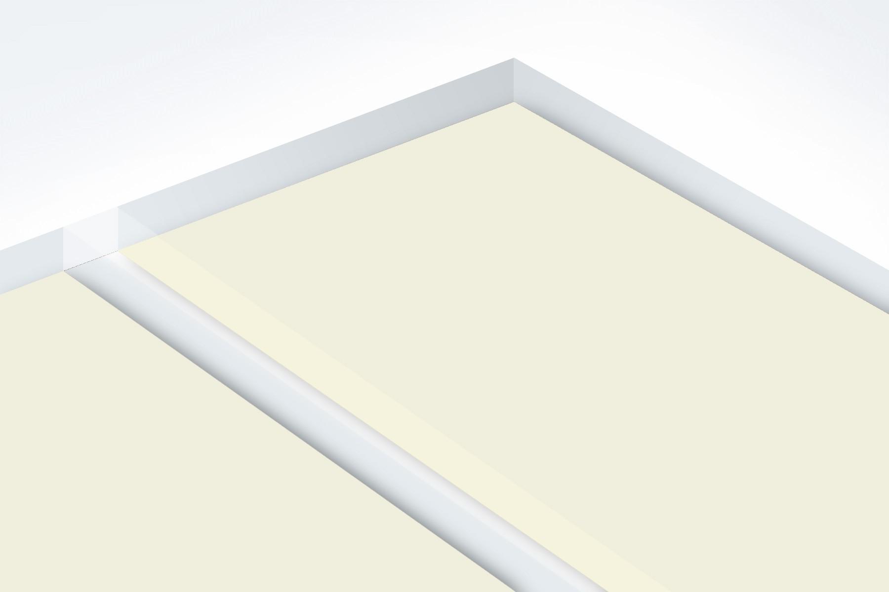 """Matte/White (Parchment) 1/16"""" PUR811-206"""