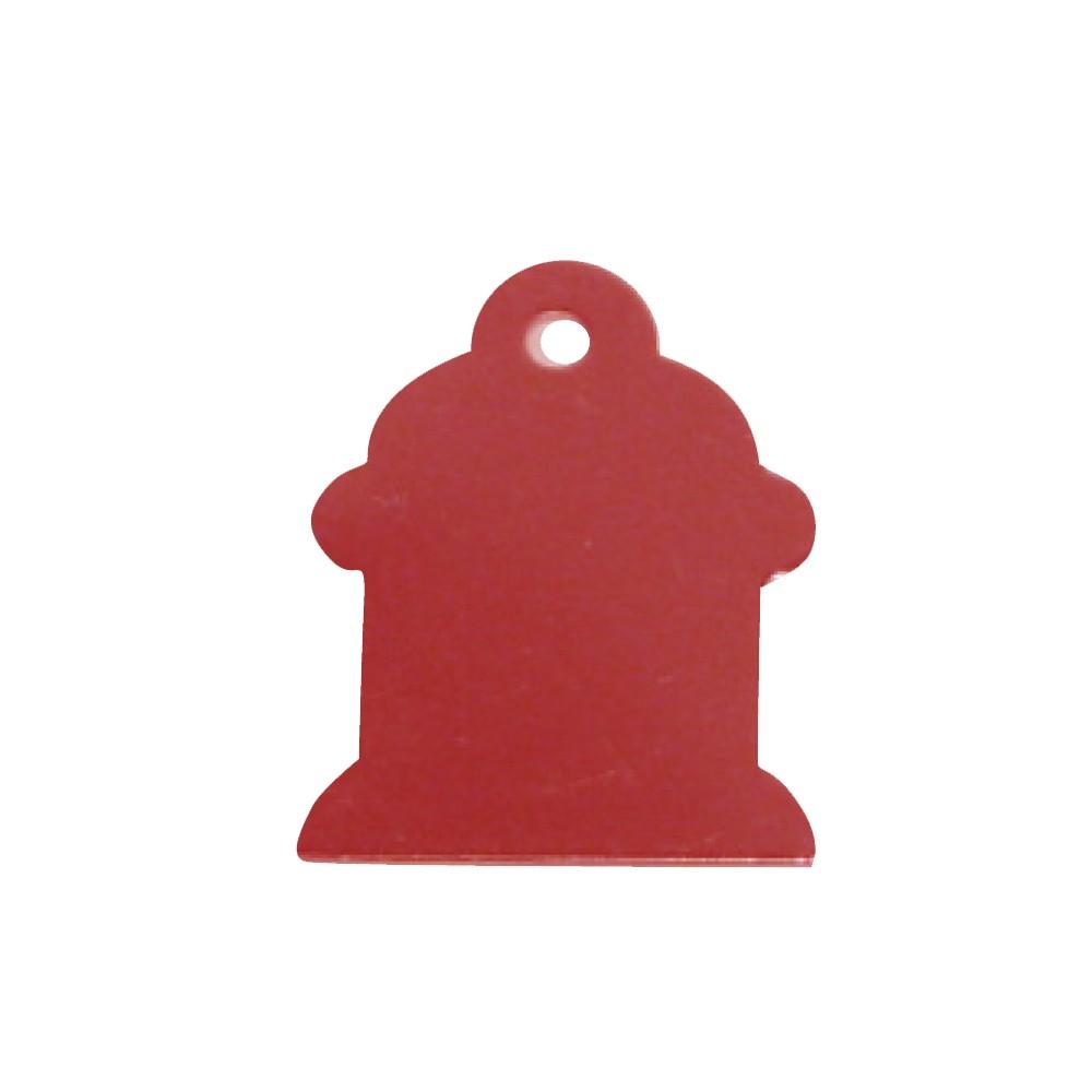 Aluminum Hydrant - Red