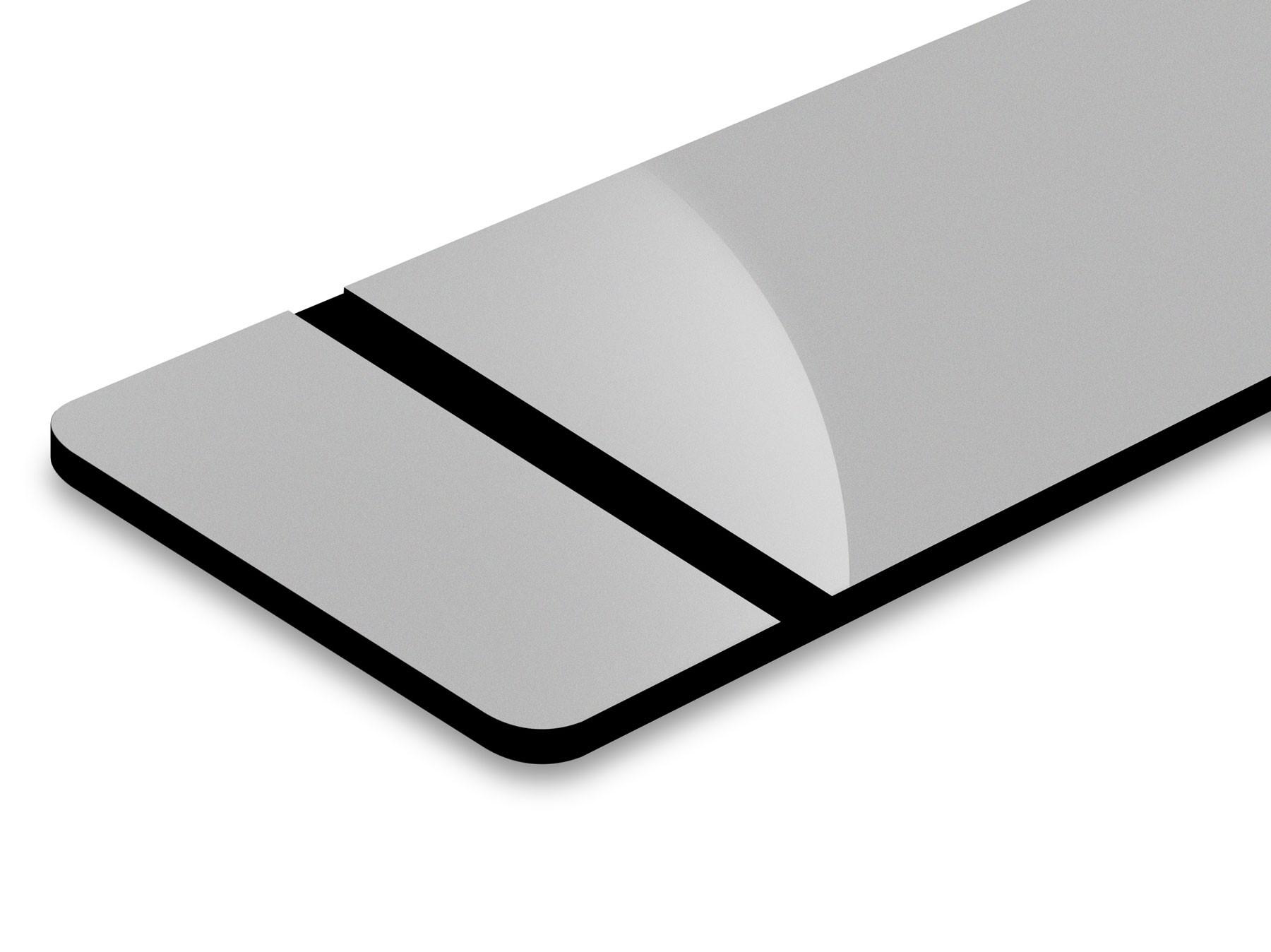 Argento/Nero 3,2mm
