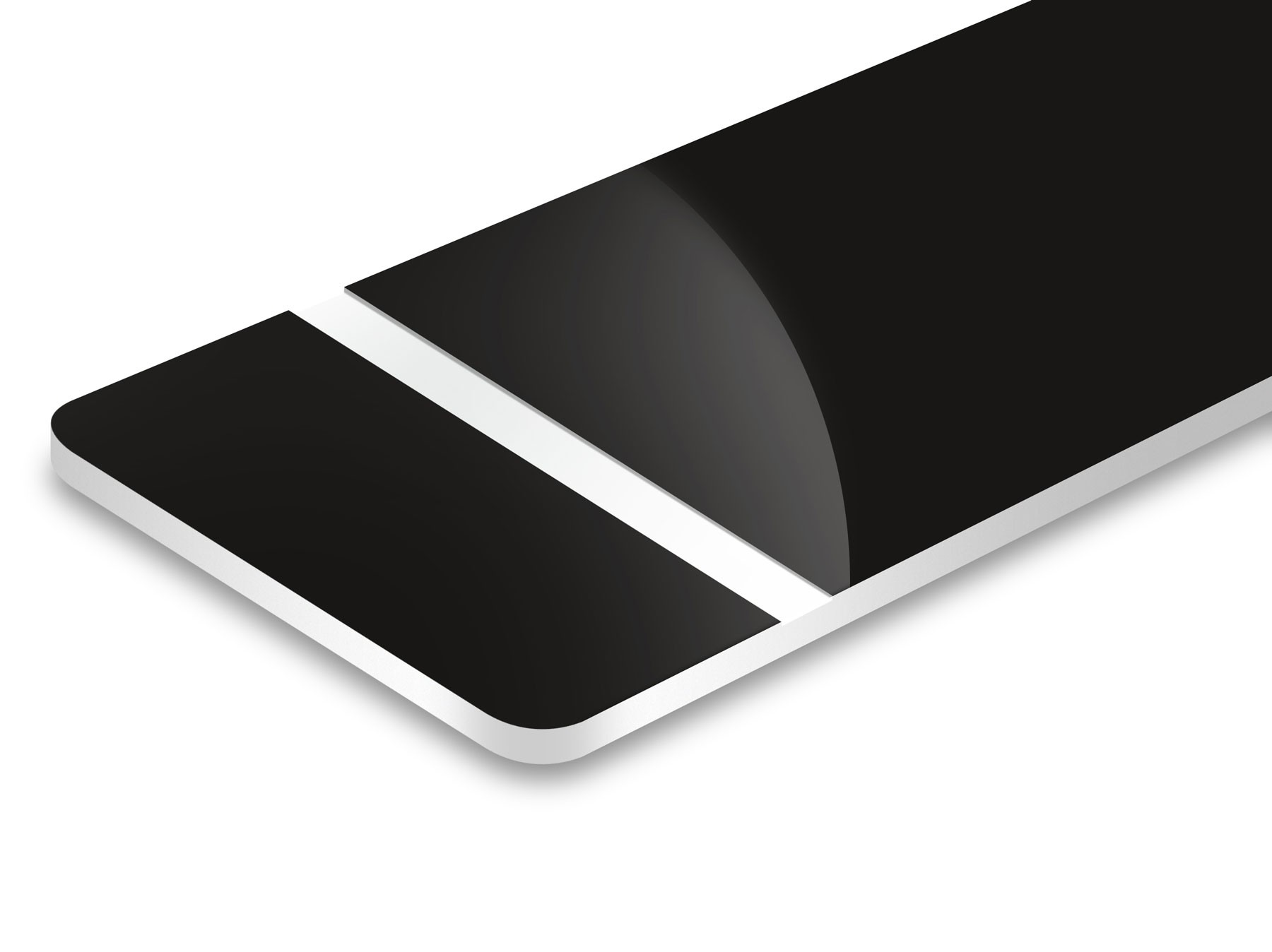 Nero/Bianco 1,6mm