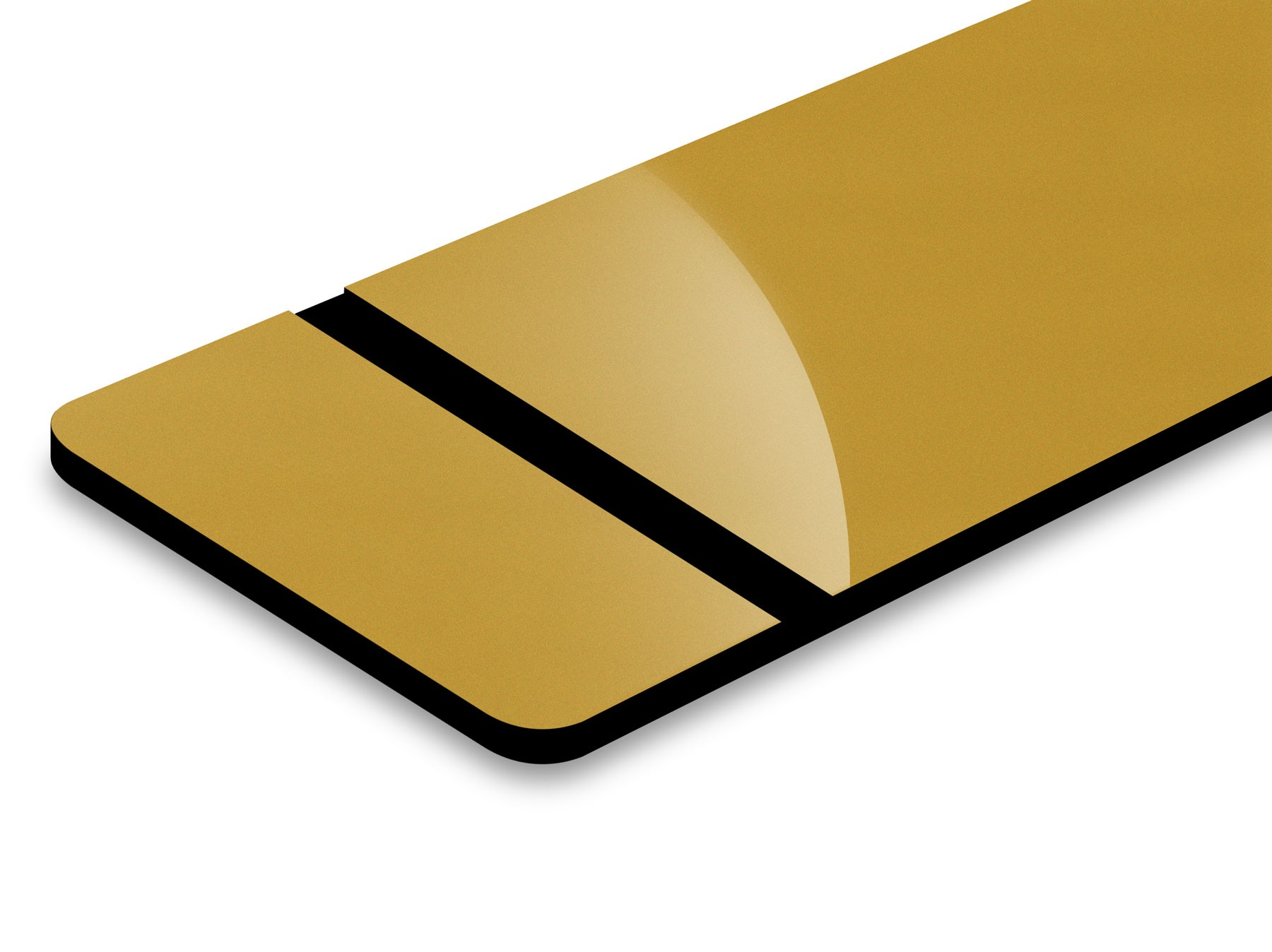 Oro/Nero 1,6mm