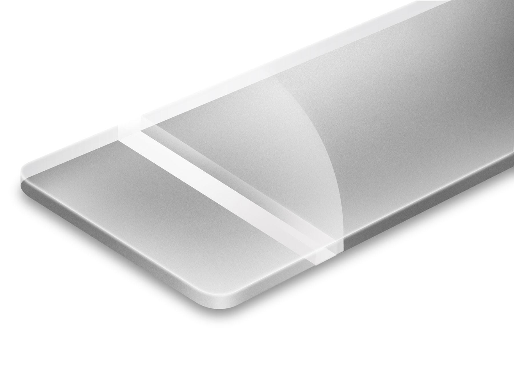 Trasparente/Argento 3,2mm