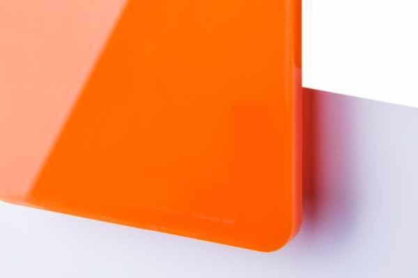 TroGlass LED Arancione 3mm