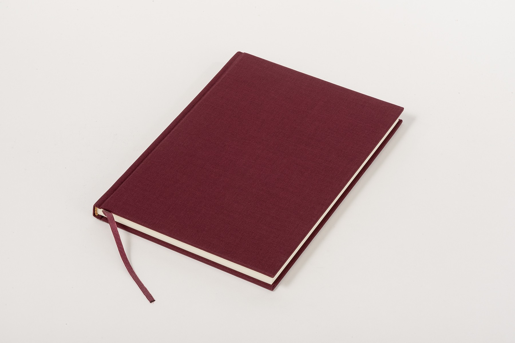 Linen Book Classic B5, burgundy