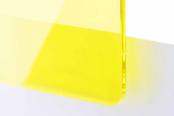 TroGlass Color Gloss Transp.geel, 3mm
