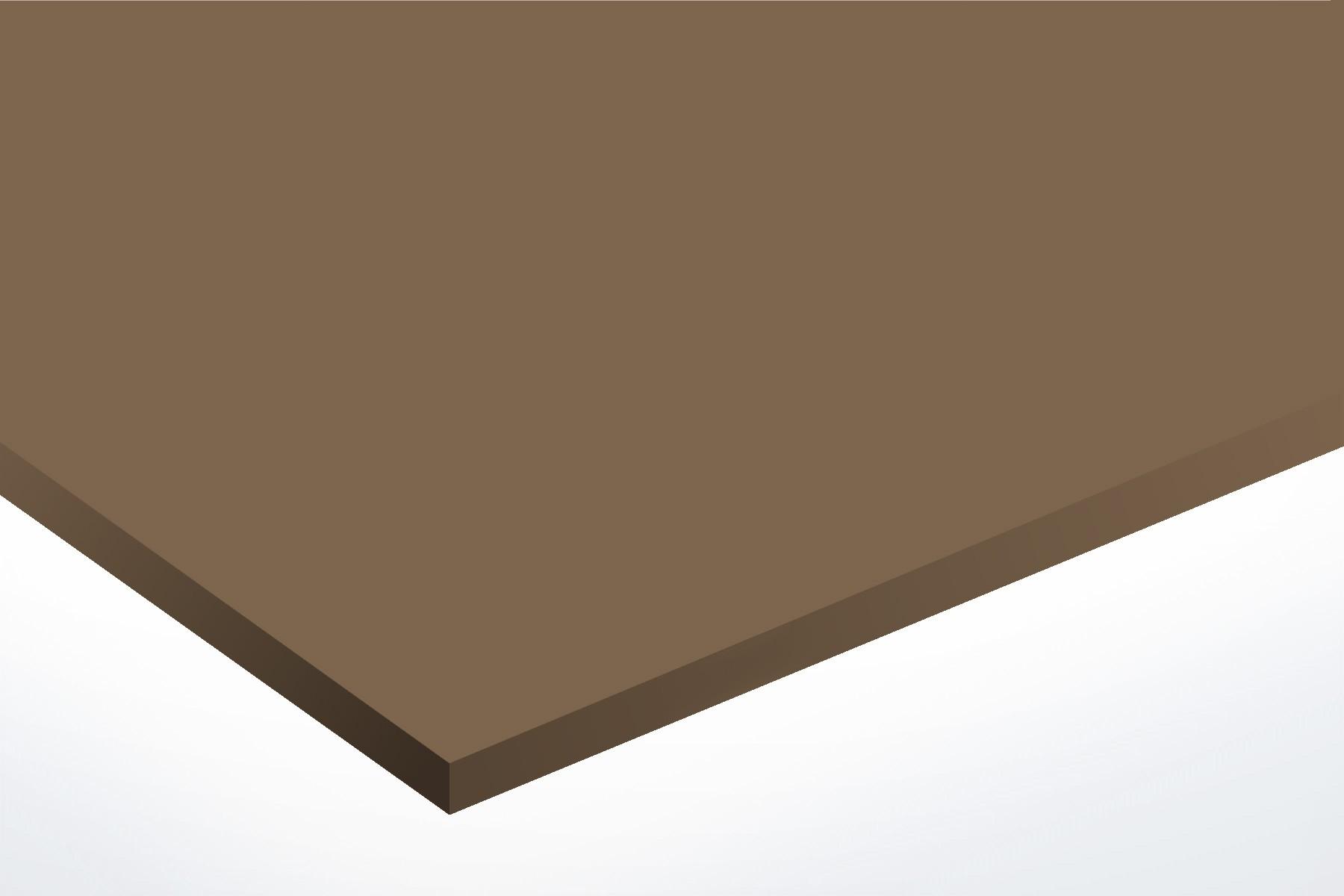 Anodised Aluminium Bronze, Matte, 2mm x 1000mm x 500mm