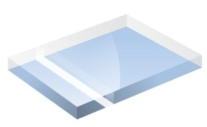 Mirror Finish Light Blue 1200x600x3mm