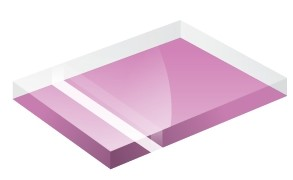 Mirror Finish Light Pink 1200x600x3mm