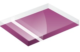 Mirror Finish Purple 1200x600x3mm