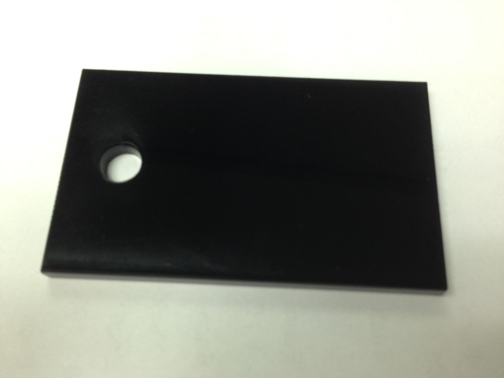 Black Acrylic 1200 x 600 x 6mm