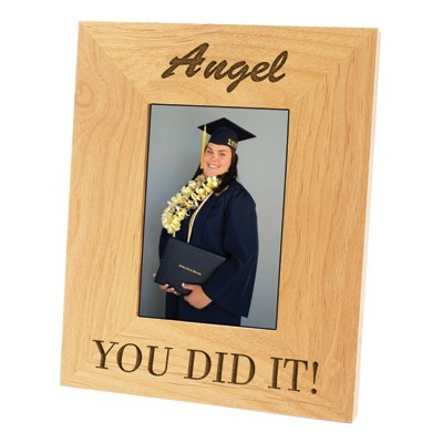 "ALDER PHOTO FRAME 6 1/2"" x 8"" x 9/16"" HOLDS 3 1/2"" x 5"" PHOTO"