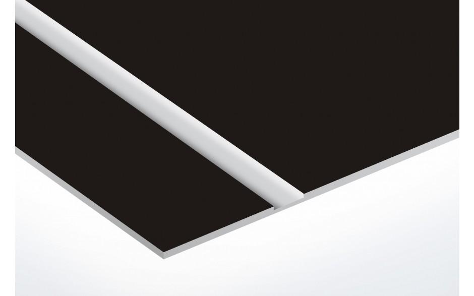 TroLase Thins, Matte Black/Silver, 2ply, 0.5 mm