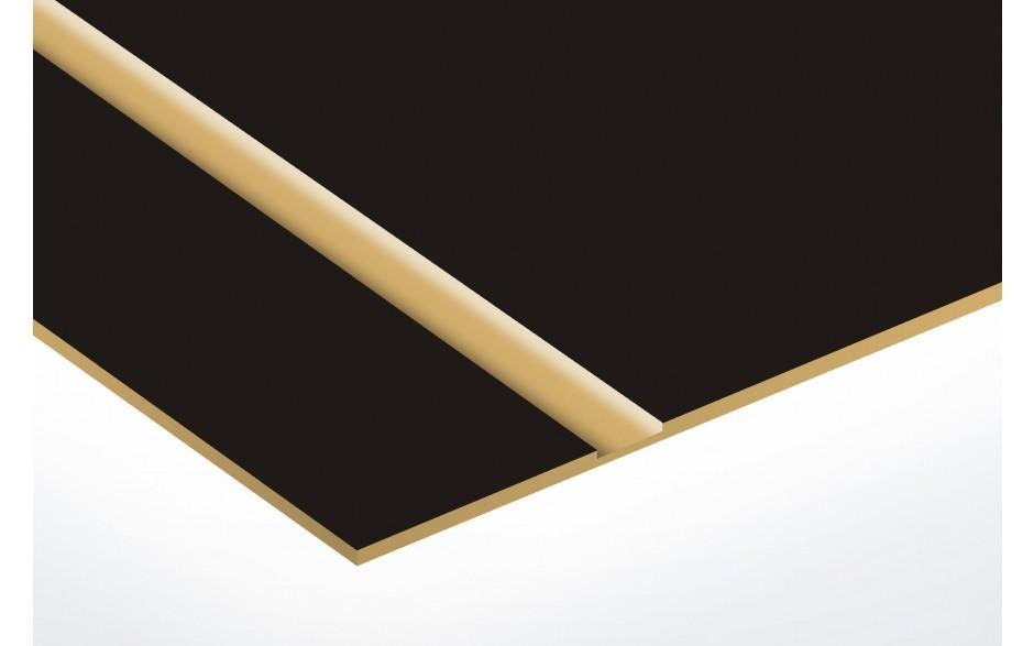 TroLase Thins, Matte Black/Gold, 2ply, 0.5 mm