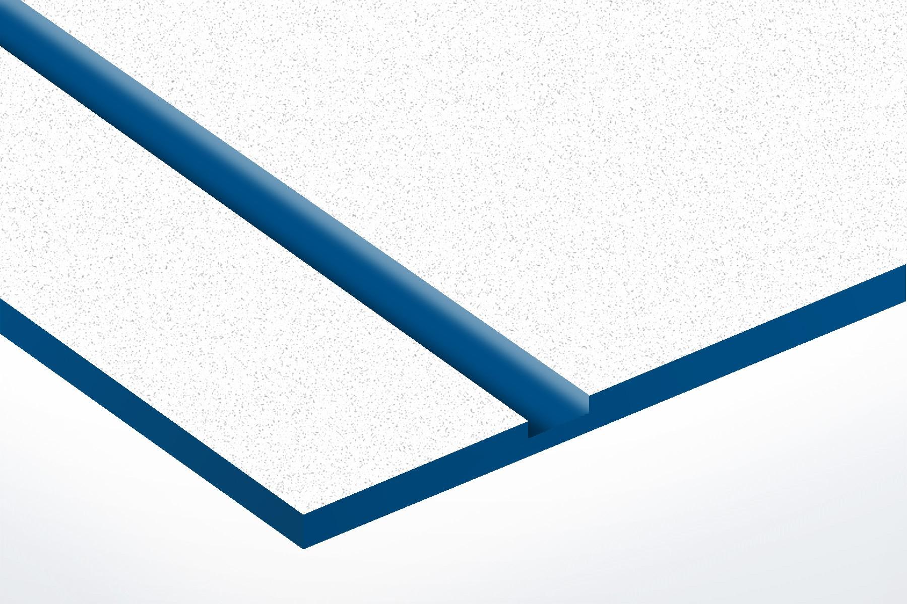 TroLase Textures, White/Blue, 2ply, 1.6 mm