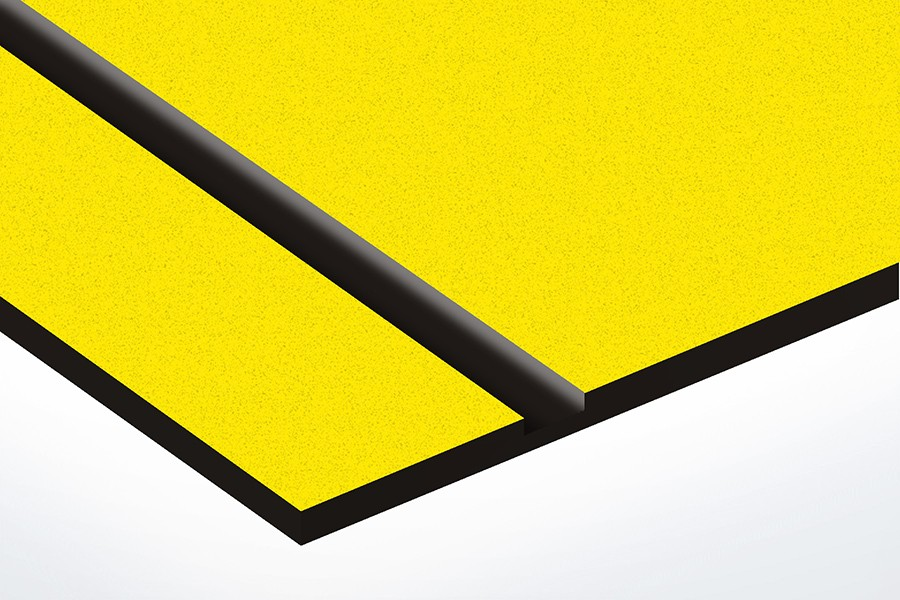 TroLase Textures, Yellow/Black, 2ply, 1.6 mm