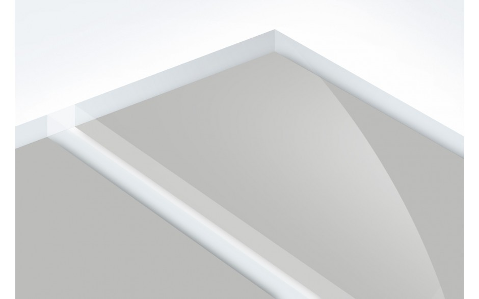 TroPly HiGloss Reverse, Clear/Silver, 2ply, 1.6 mm
