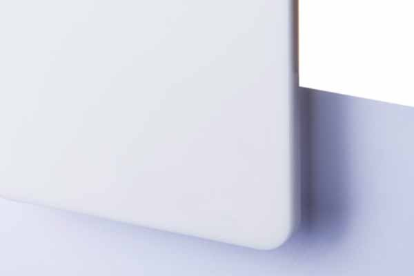 TG Satin White Matte 3mm
