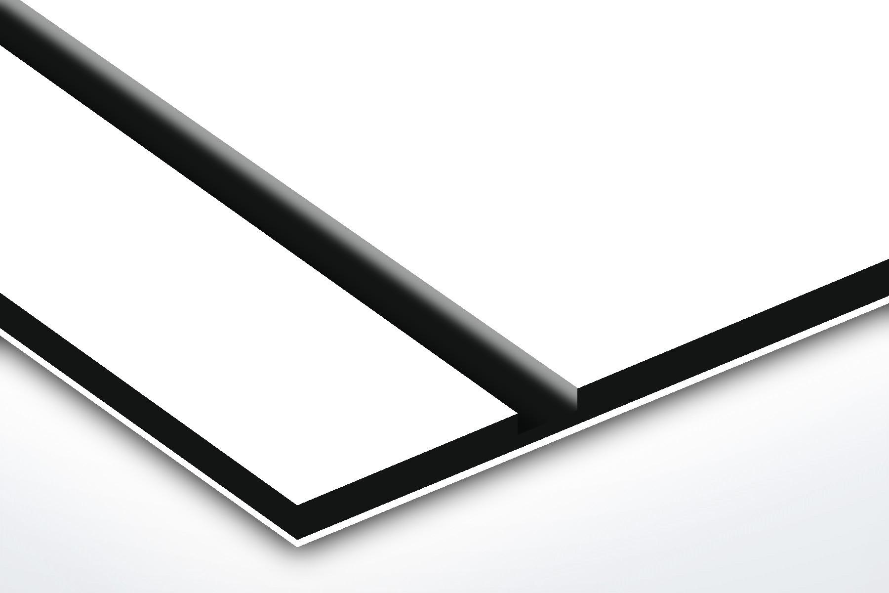 TroPly HiGloss, White/Black/White, 3ply, 3.2 mm