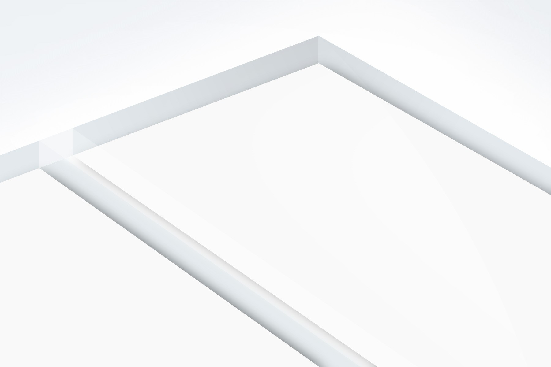 TroPly HiGloss Reverse, Clear/Clear, 1ply, 3.2 mm