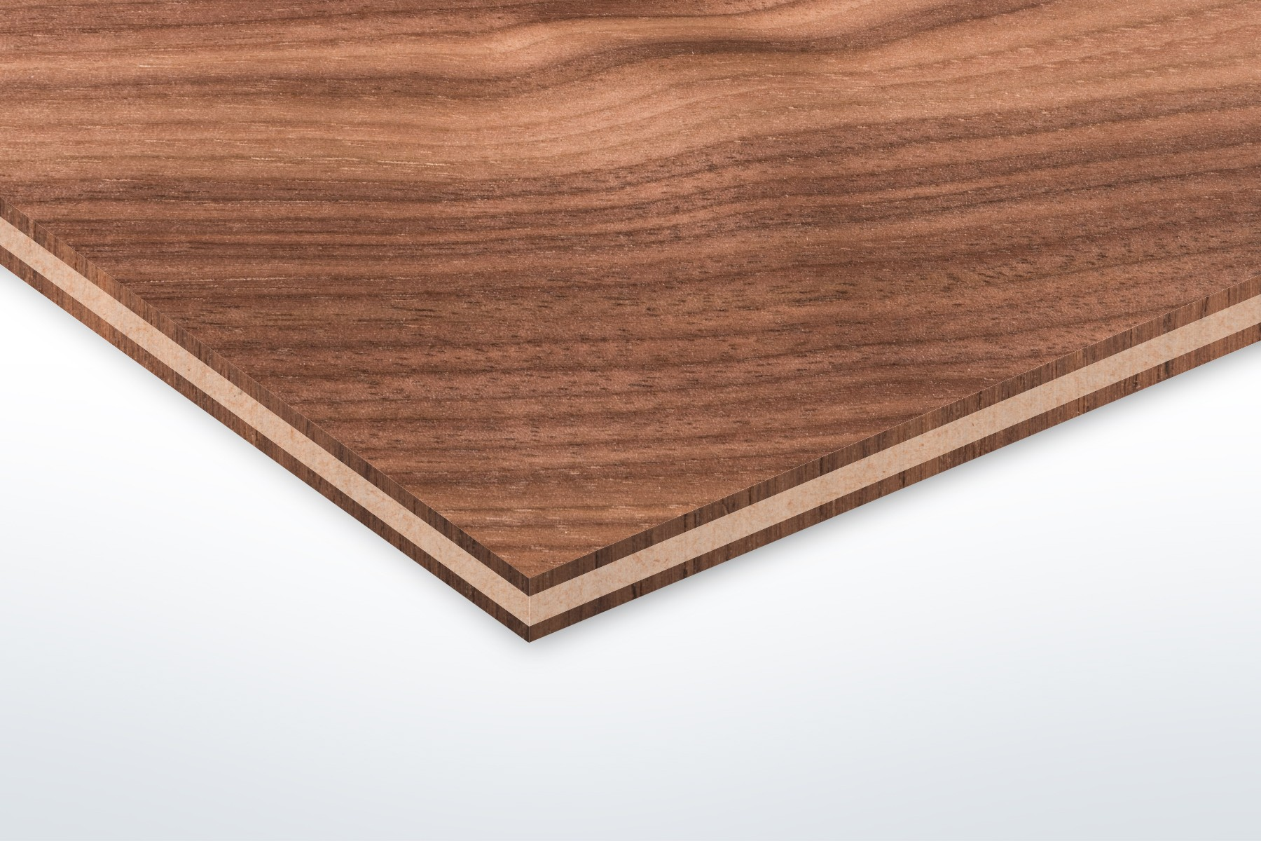 Walnut - 600 x 300mm - 3mm