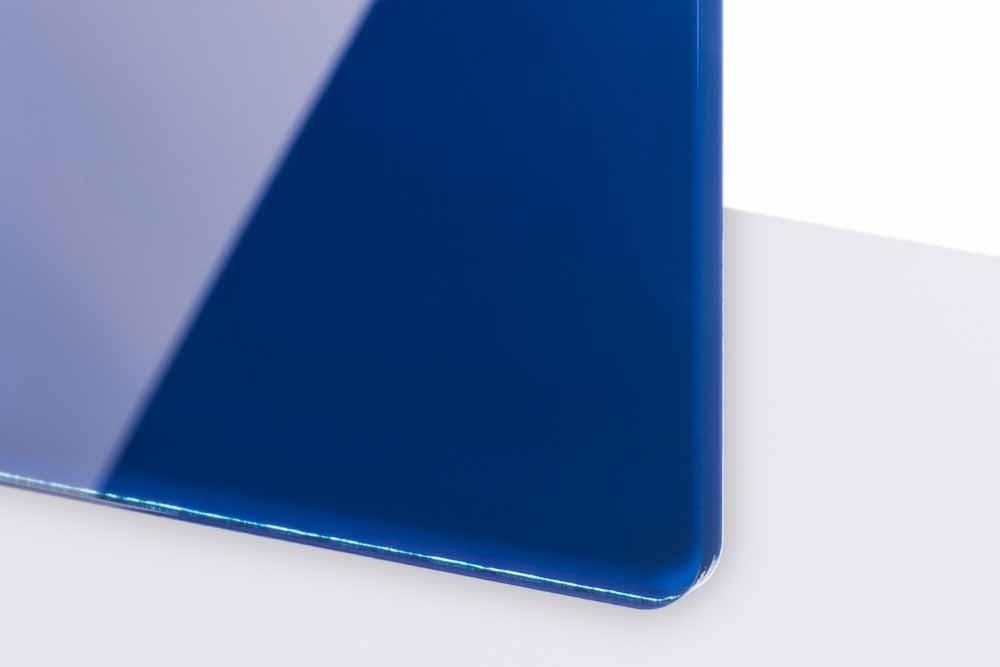 TroGlass Reverse Błyszczący/Niebieski 3mm