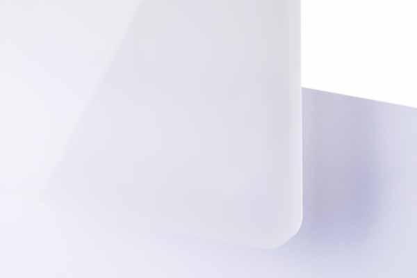 TroGlass Color Gloss Biały Półprzezroczysty