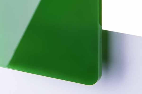 TroGlass Color Gloss Ciemnozielony Półprzezroczysty