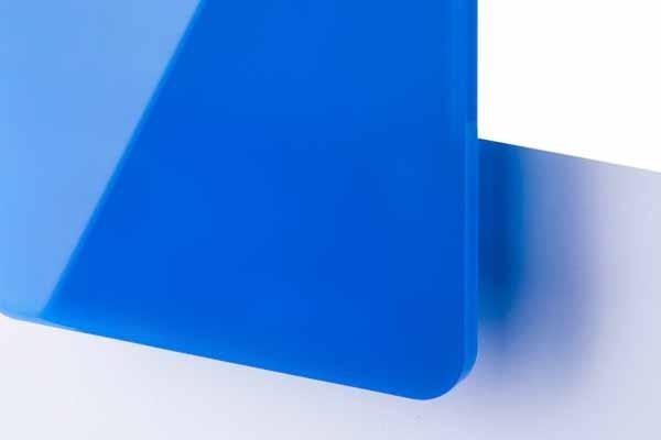 TroGlass Color Gloss Błękitny Półprzezroczysty