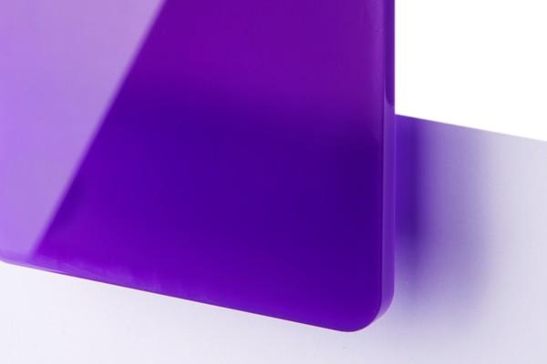 TroGlass Color Gloss Liliowy Półprzezroczysty