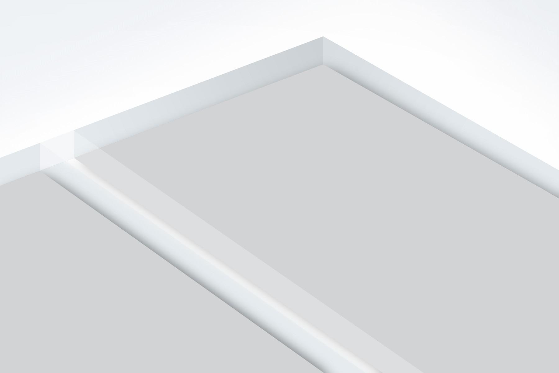 "LR341-209 Matte Clear/Silver 1/8"""
