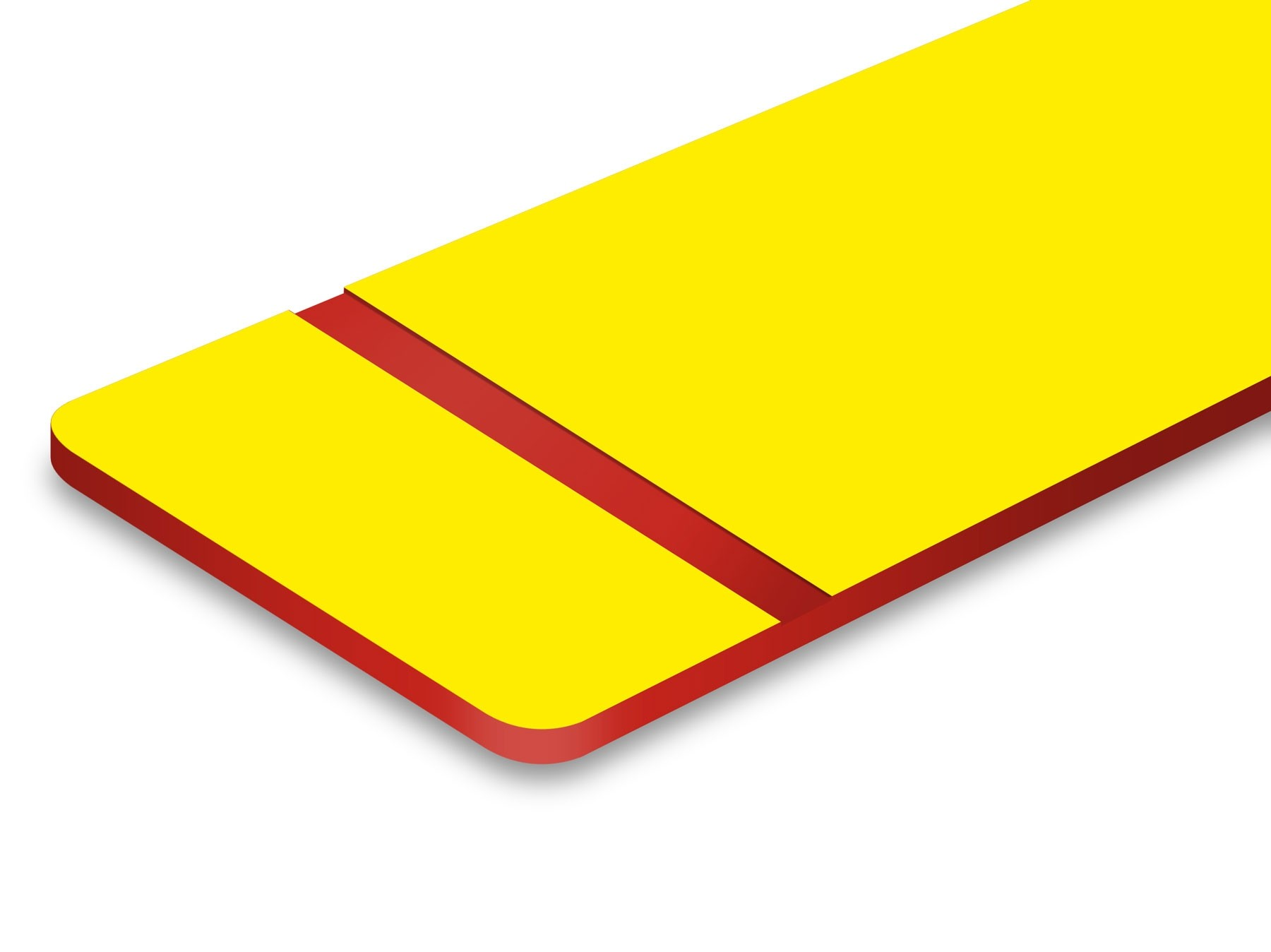 L706-209 Yellow/Red 1/8""