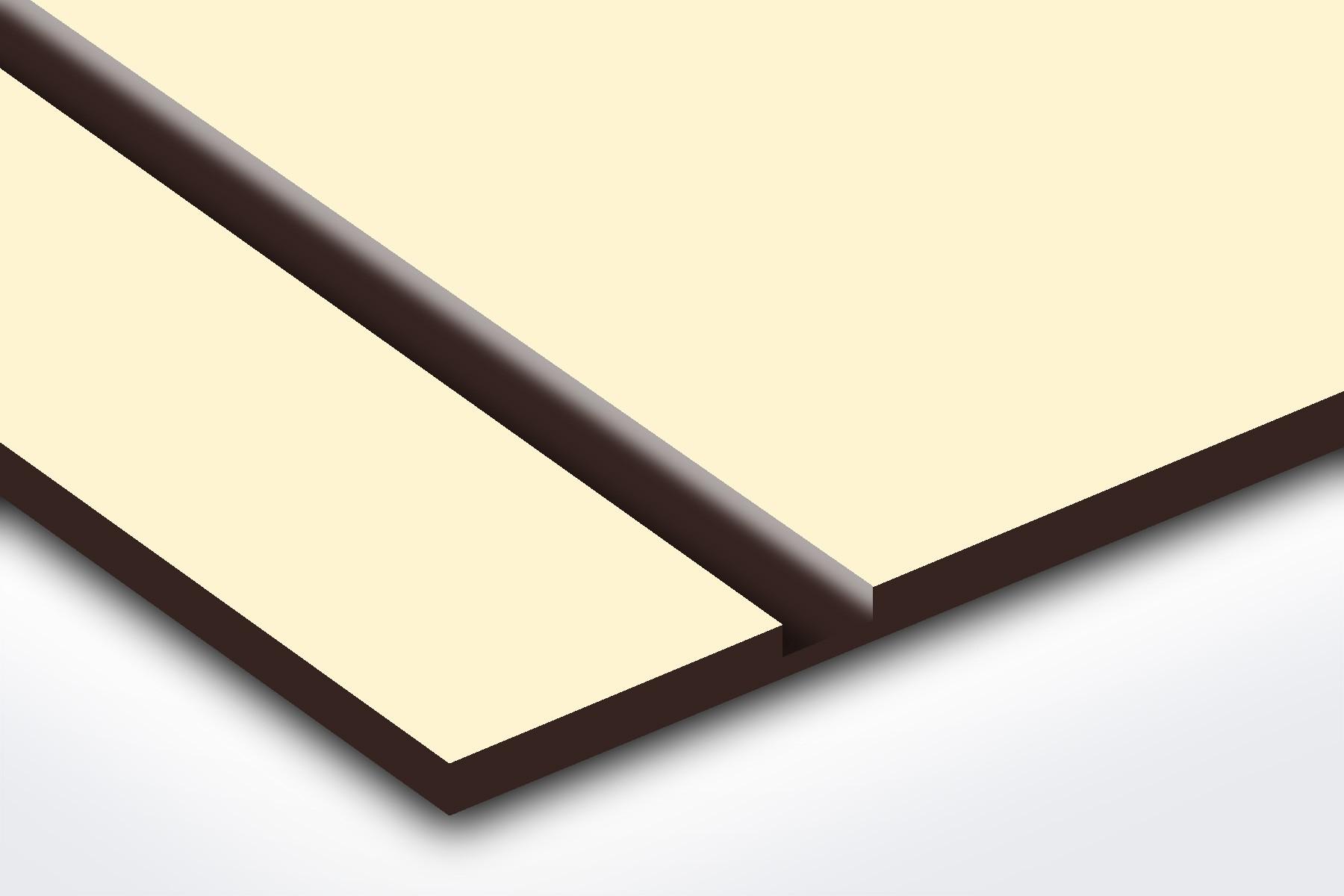 "PS228-206 Ivory/Dark Brown 1/16"""