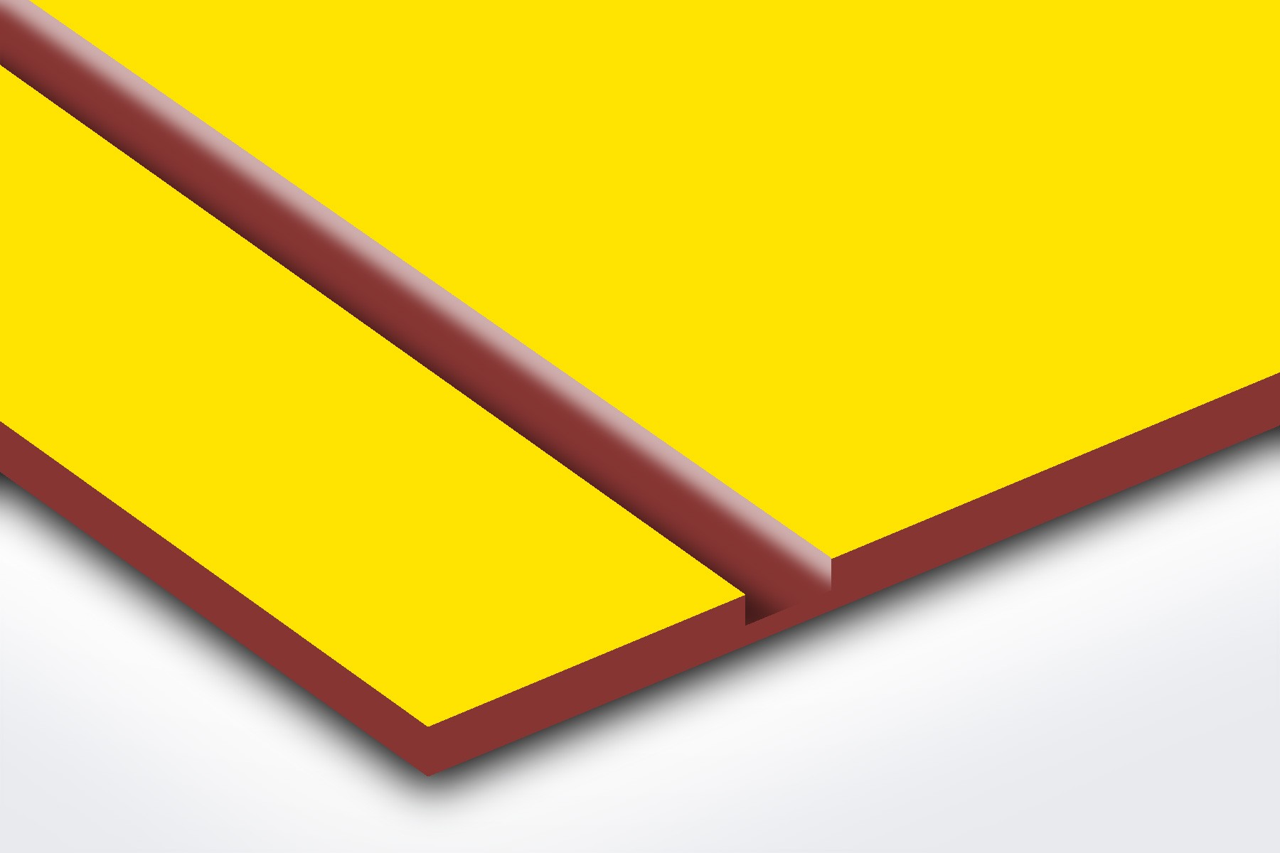 PS706-206 Yellow/Red 1/16""