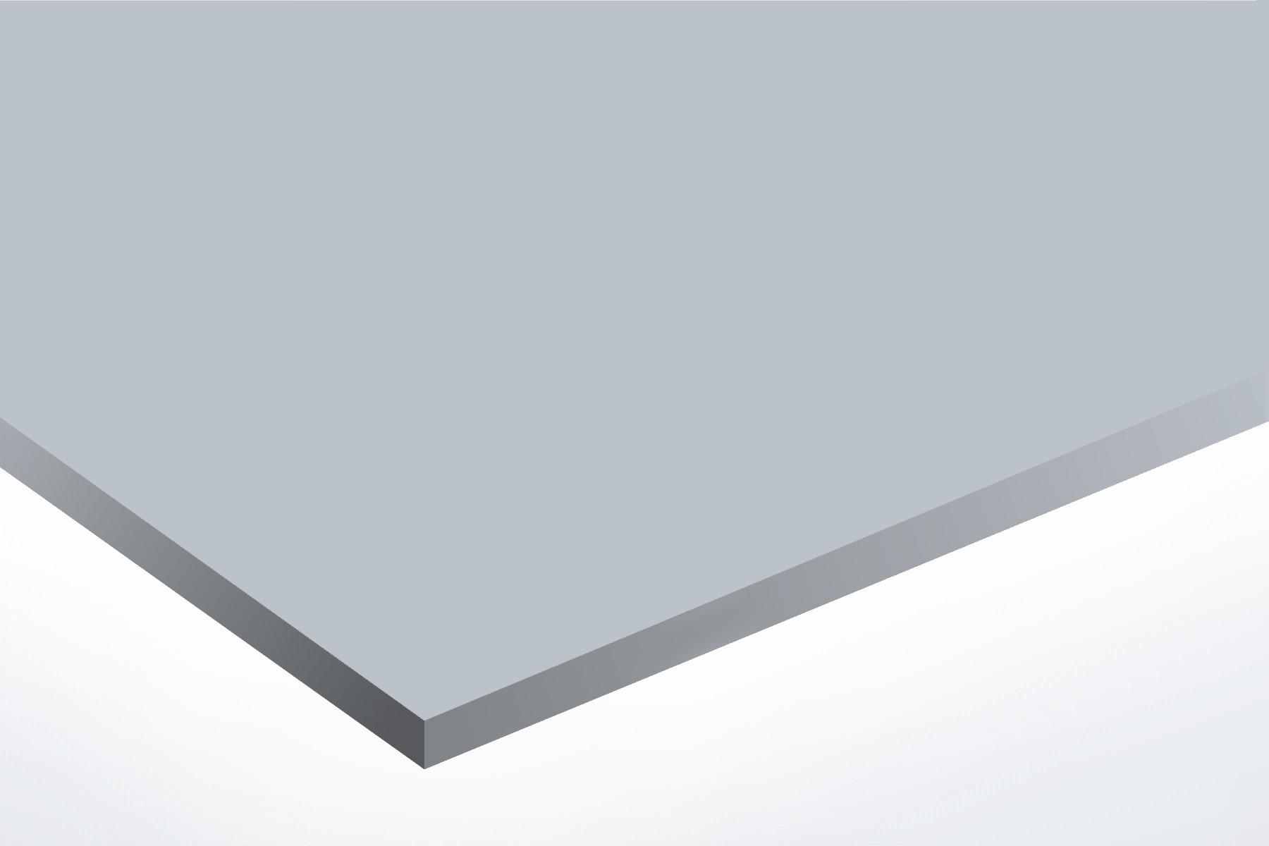 Anodised Aluminium Natural, Matt, 0.5mm x 1000mm x 500mm