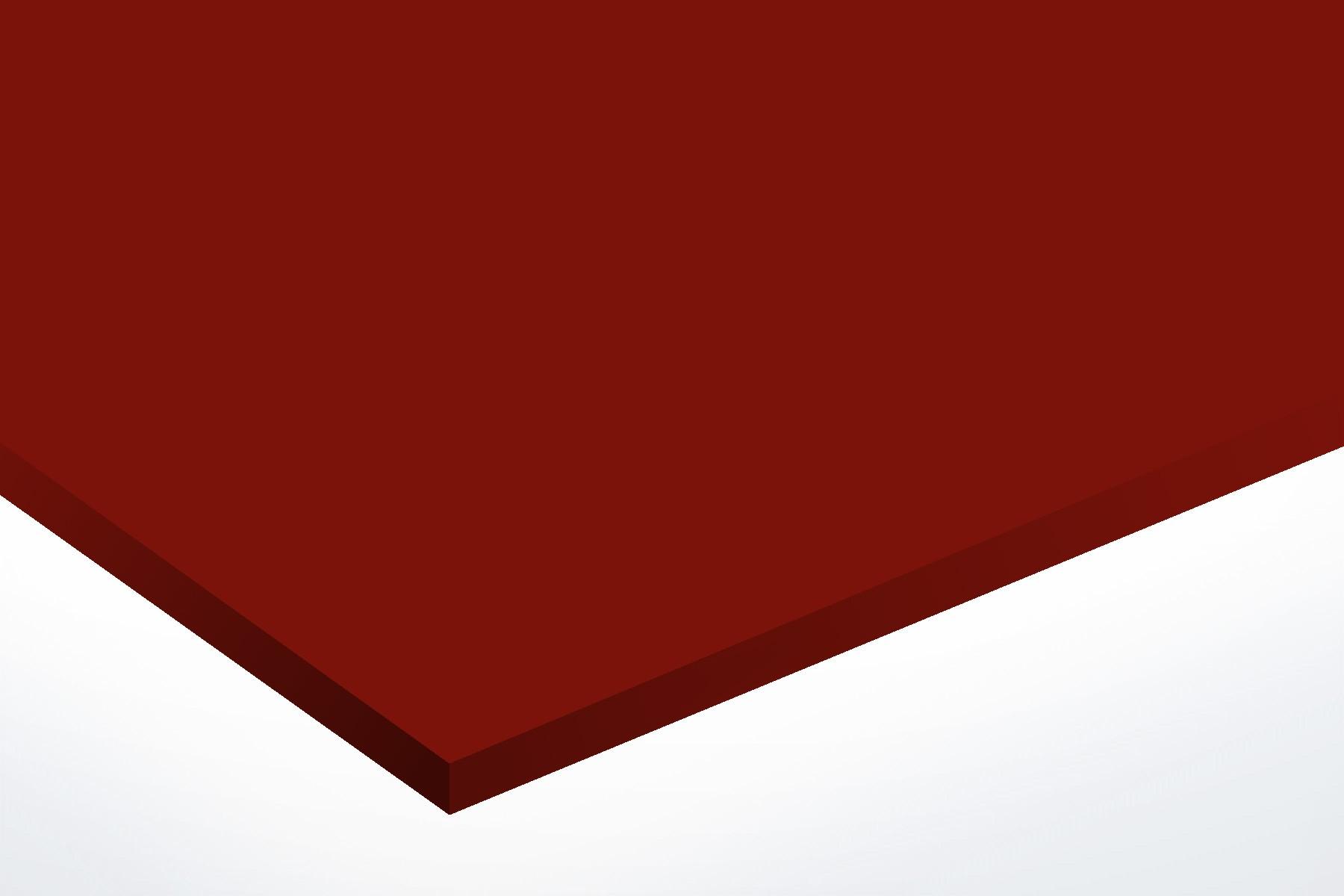 Anodised Aluminium Red, Matt, 1mm x 1000mm x 500mm